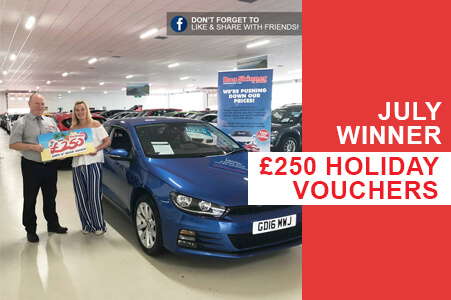 Win £250 worth of holiday vouchers